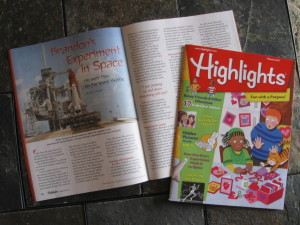 My article in Highlights!