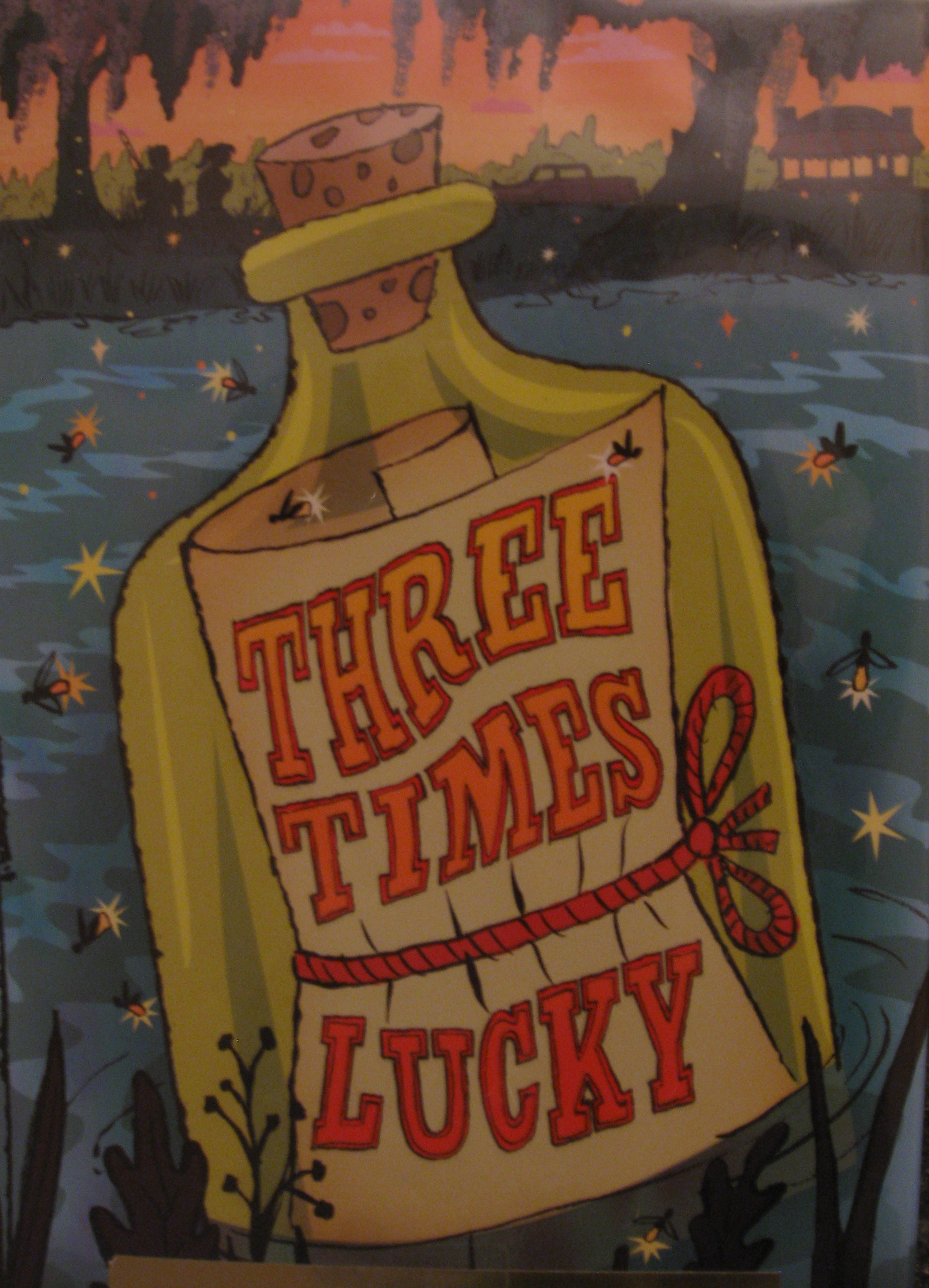 Monday book review three times lucky by sheila turnage aj cattapan img3680 title three times lucky fandeluxe