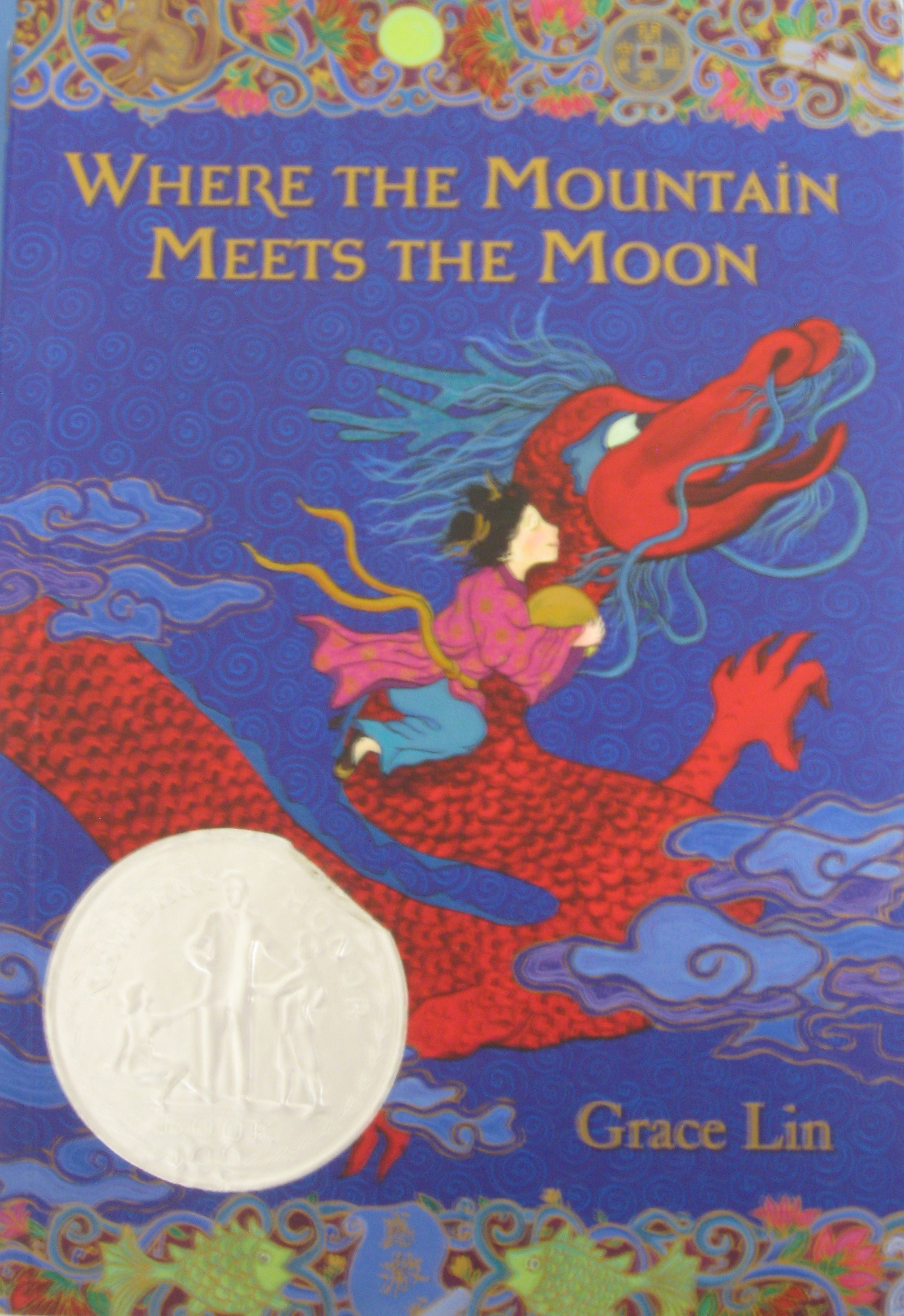 Monday Book Review: Where the Mountain Meets the Moon by Grace Lin ...