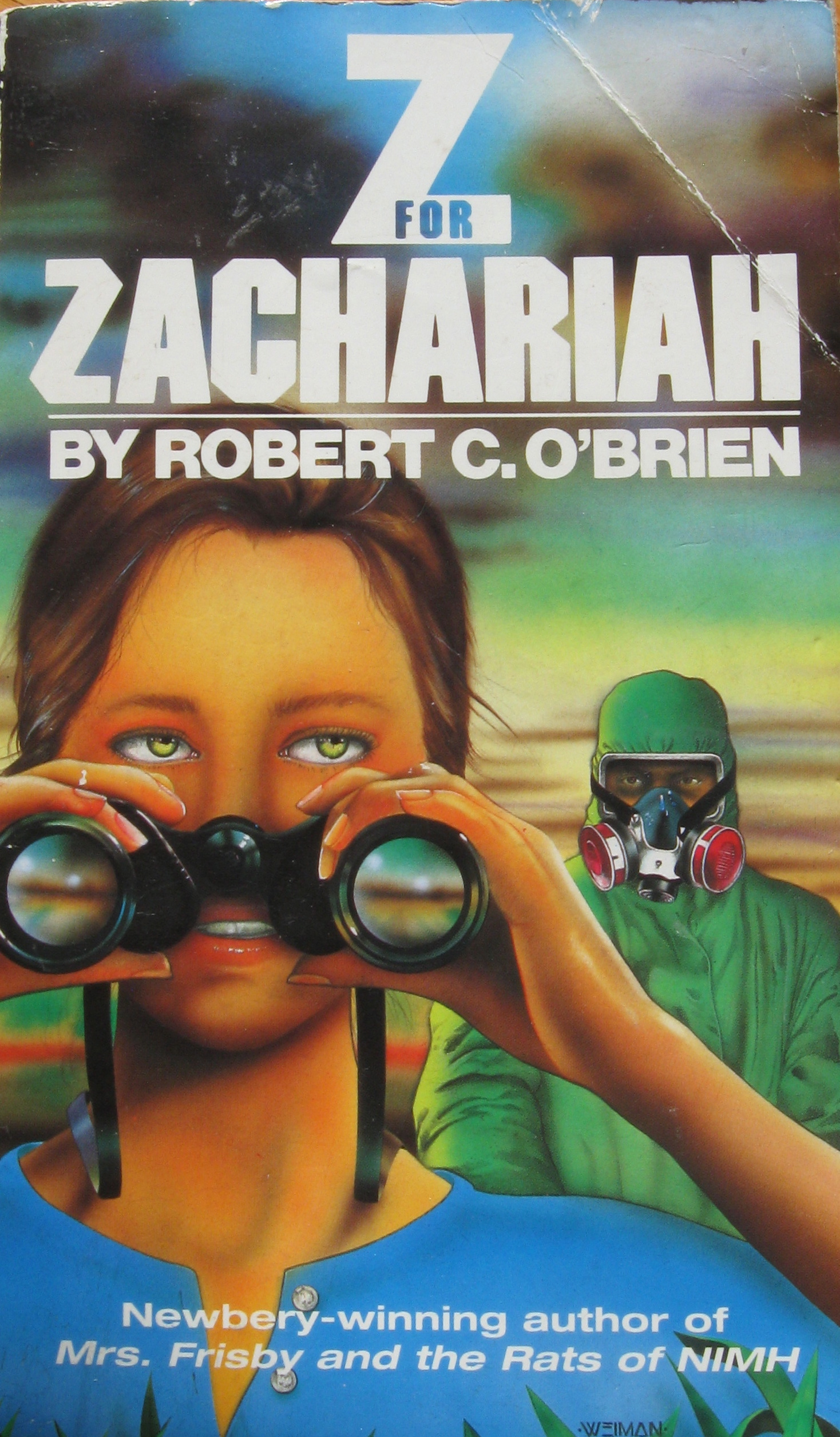 Monday Book Review: Z for Zachariah by Robert C. O'Brien   A.J. ...