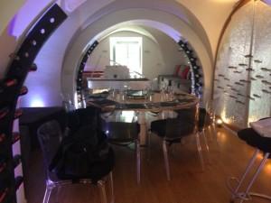 The cooking studio/apartment