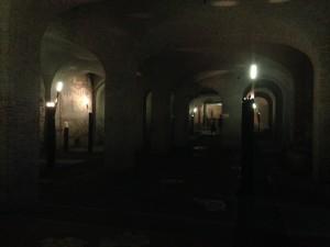 Fourth century church under the current church