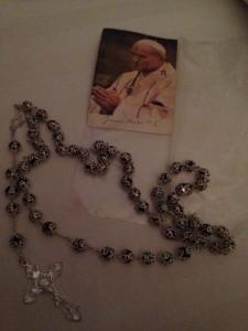 JP II Prayer Card