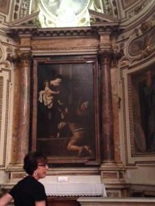 Caravaggio's Madonna del Loreto