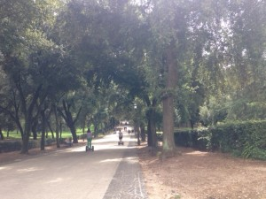 The Villa Borghese or Kensington Park?