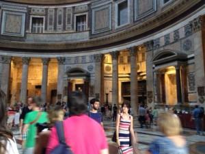If I had more time here, I'd try to go to mass at the Pantheon.