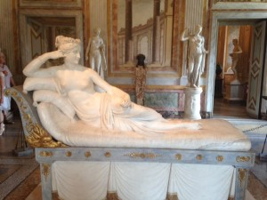 Paolina Borghese (really woman, not a goddess)