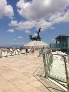 Top Terrace at Vittorio Emanuele