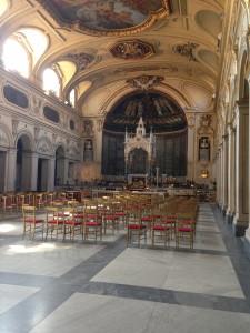 Interior of Santa Cecilia