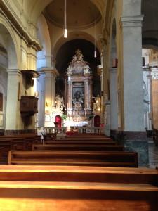 San Francesco a Ripa (don't ask me what the Ripa part means)