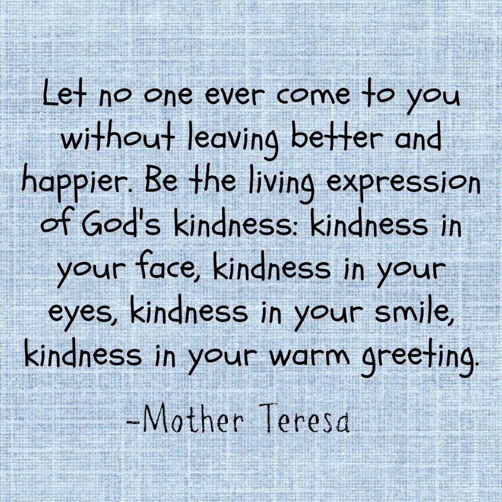 Mother Teresa kindness
