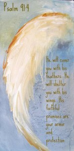 Psalm 92 Angel Wing