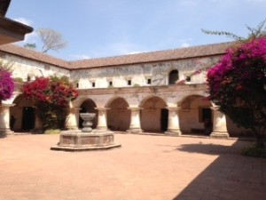 Courtyard in the Capuchin Convent