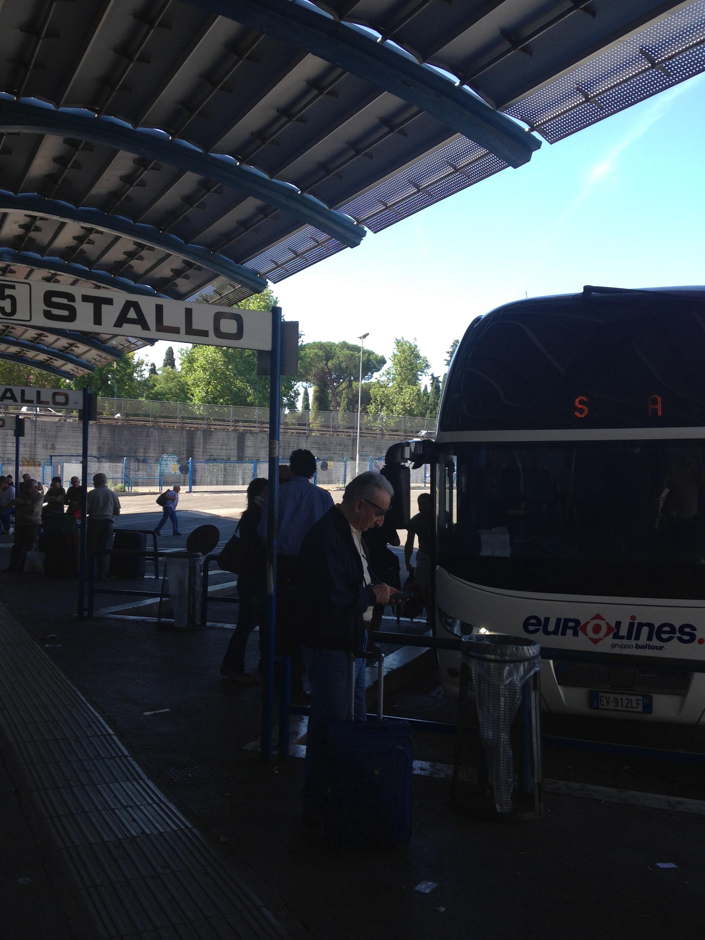 Your Sena bus at Stallo 5!
