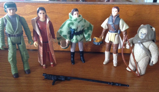 These are my action figures. Not my brothers. :)