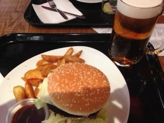 An American Lunch in Madrid