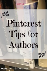 Pinterest Tips for Authors--Bring traffic to your website!