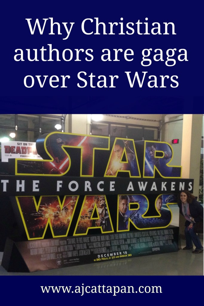 Why is it about the Star Wars saga that has all the Christian authors gaga over it?