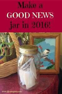 Good news jar 2016 Pinterest