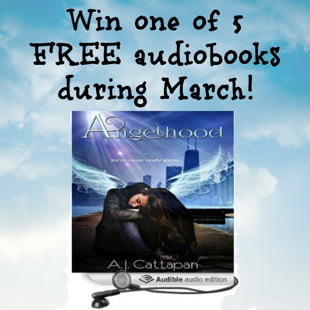 "Win one of 5 audiobook copies of the award-winning YA novel Angelhood. If you love ""It's a Wonderful Life,"" then you'll love ""Angelhood."""