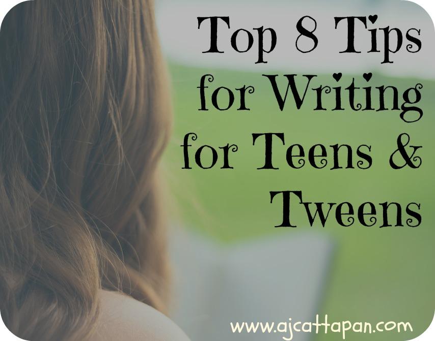 Teen Writing Tips 15