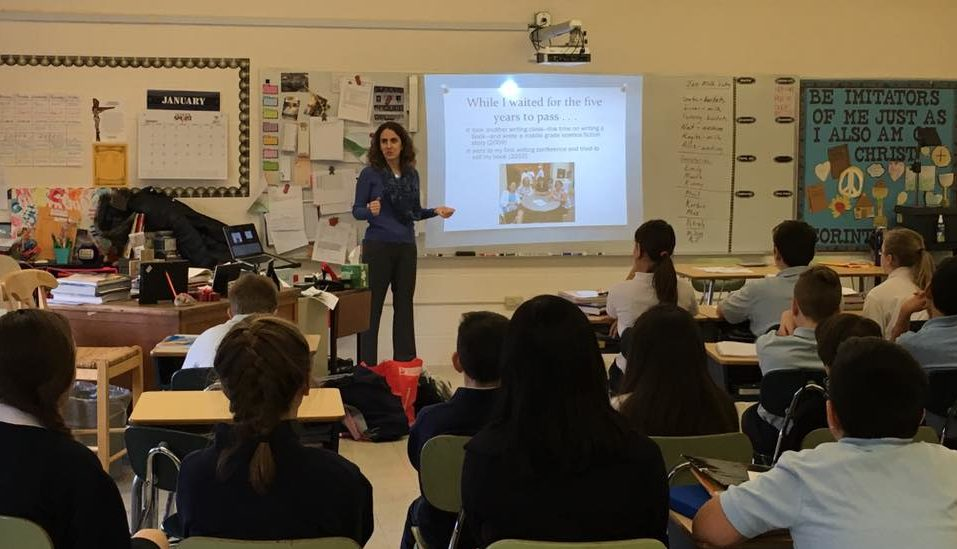 Book Award-winning author A.J. Cattapan for a visit at your school!